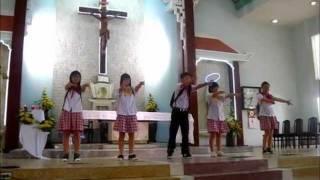 Em Học Với Giêsu _ Khai Giảng Năm Học Giáo Lý 2011 - 2012 [Đoàn TNTT GX Lạng Sơn]