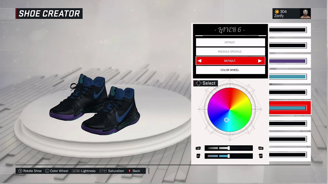 NBA 2K17 Shoe Creator - Nike Kyrie 3