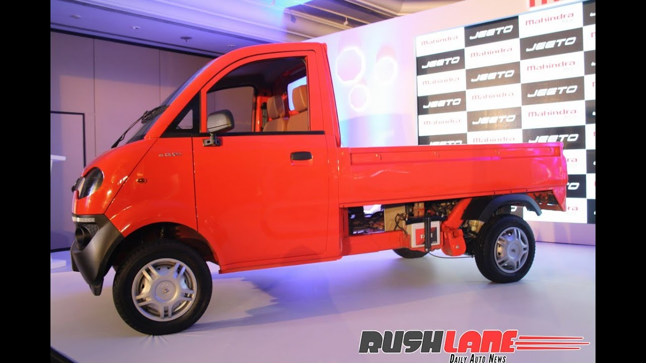 Mahindra Jeeto mini LCV launch event in Mumbai