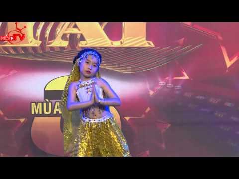 Cô bé dễ thương với điệu múa Alibaba kết hợp múa bụng | Casting BẠN CÓ THỰC TÀI - Mùa 3