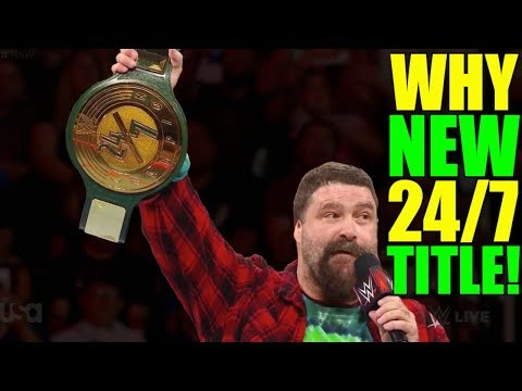 Real Reason Why Mick Foley Unveiled NEW WWE 24/7 Championship On Raw (20 May 2019) REVEALED!
