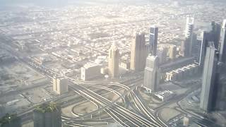 At To Top Burj Khalifa-view from 124 floor