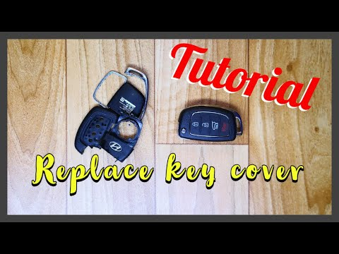 How to replace Hyundai key cover – not easy