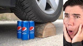 EXPERIMENT: CAR vs PEPSI!