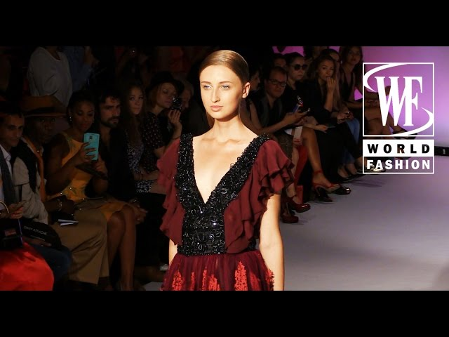Front Row Dany Atrache Couture Fall-Winter 15-16