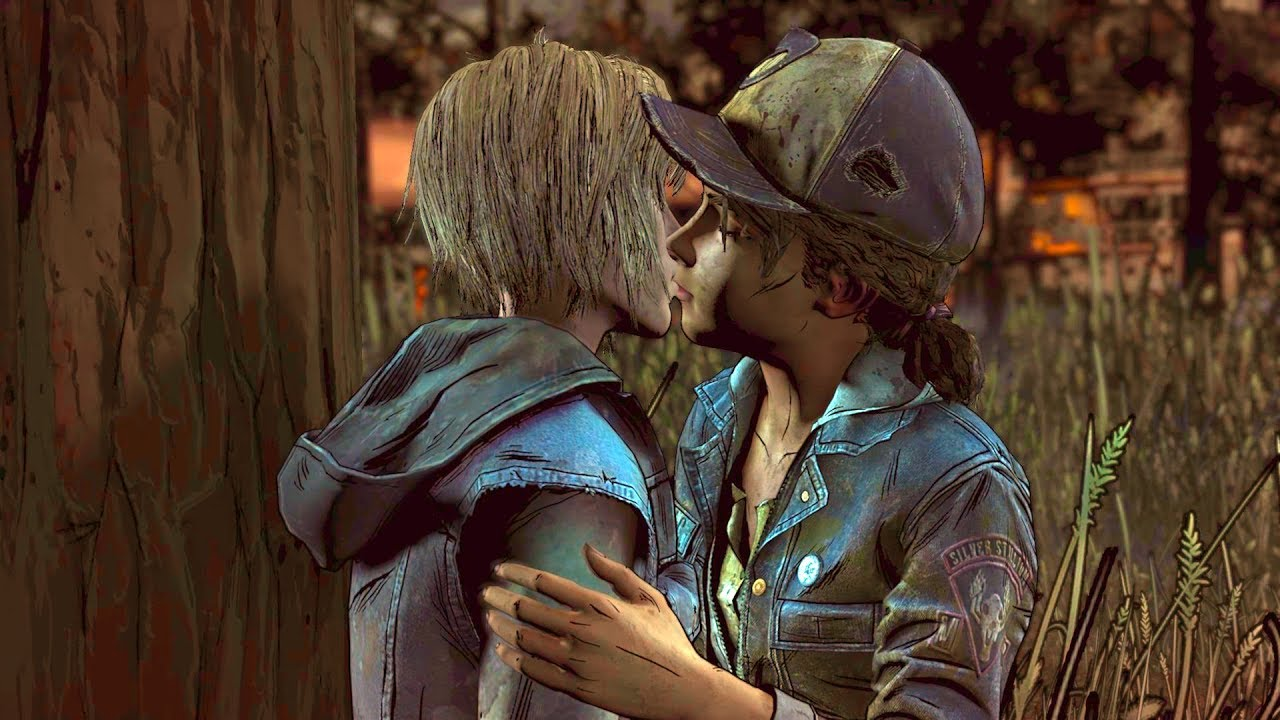 Clementine & Violet Romance Scene – The Walking Dead The Final Season Episode 3