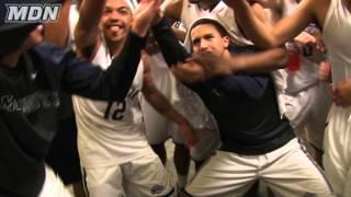 Men's Basketball Win vs. #17 Notre Dame Locker Room Reaction