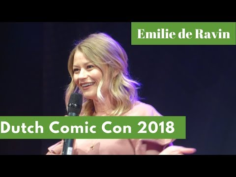 Emilie de Ravin Dutch Comic Con Spring 2018 panel highlights