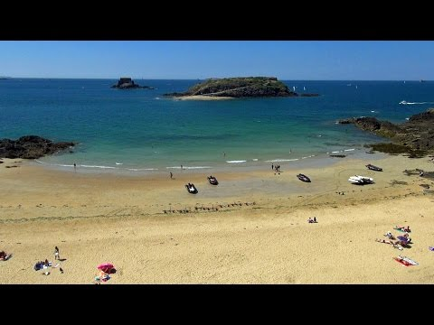 Saint Malo City Beach & Islands - Ville Plages & îles HD