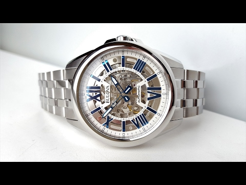 Обзор механических часов Bulova 96A187 (Review)