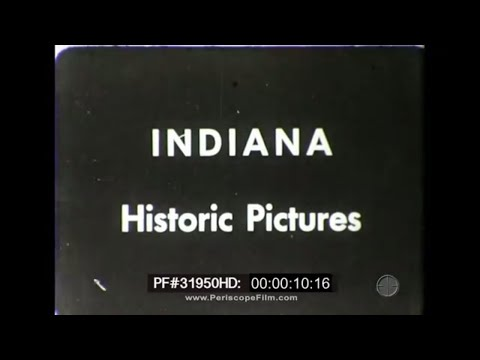 Indiana in WWI - ISL, Lilly Endowment, Fort Benjamin Harrison, Fairbanks 31950 HD