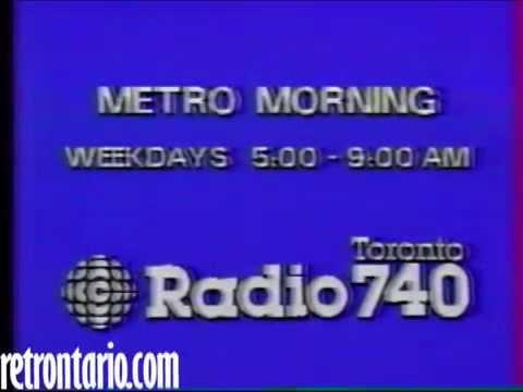 CBC Radio Metro Morning 1983