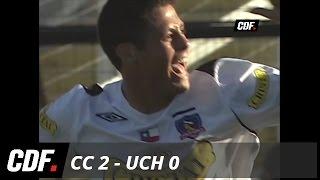 Colo Colo 2-0 U. de Chile 2007 ida semifinal