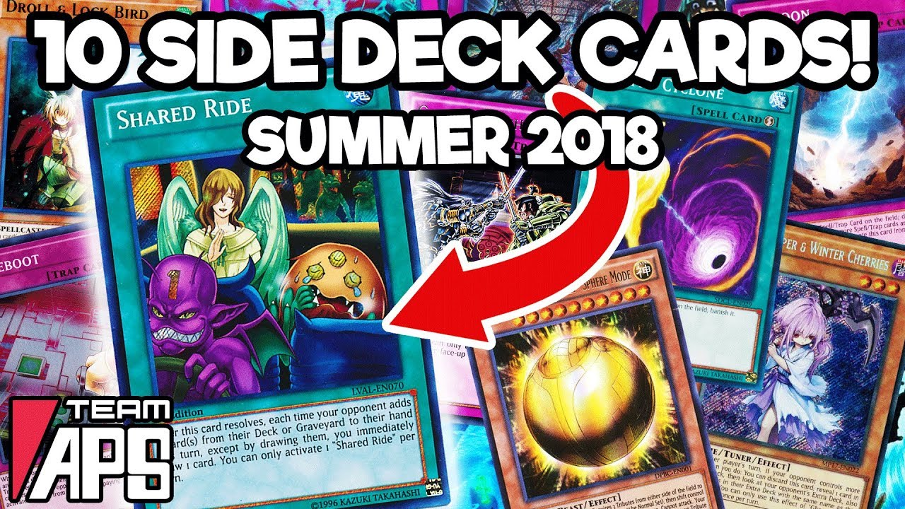 *TOP 10* Yu-Gi-Oh! Side Deck Cards for May/Summer 2018 Format!