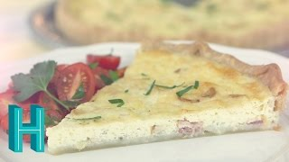Quiche Lorraine |  Hilah's French Brunch