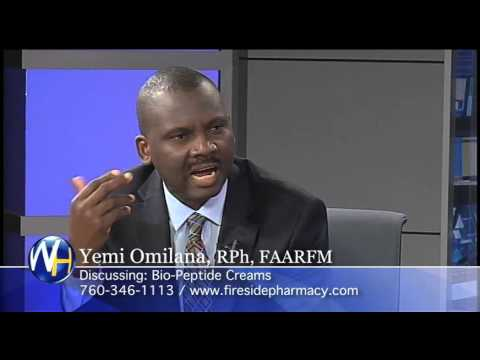 Bio Peptide Cream with Yemi Omilana, RPh, FAARFM Palm Springs Compounding Pharmacist