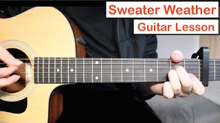 Baixar Sweater Weather - The Neighbourhood | Guitar Lesson (Tutorial) Chords