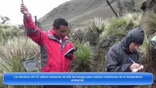 Complejo Volcánico Chiles-Cerro Negro, Monitoreo de Fuentes Termales