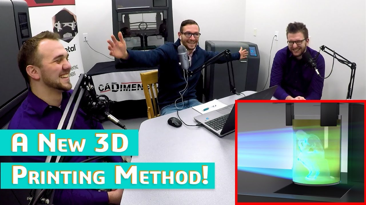 A New 3D Printing Method! - Additive Manufacturing Podcast