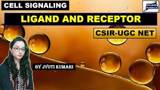 LIGAND AND RECEPTOR (PART-1) || CELL SIGNALING || CSIR NET || GATE LIFESCIENCE