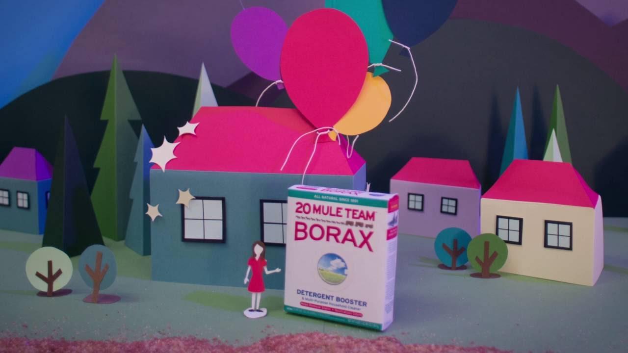 20 Mule Team® Borax - Stop Motion