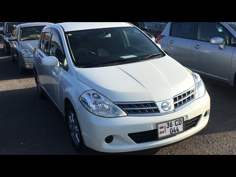 Авторынок Армении. Обзор Nissan Tiida 1,5