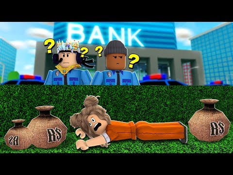2 Player Can We Arrest The 1 Criminal In Roblox Mad City -