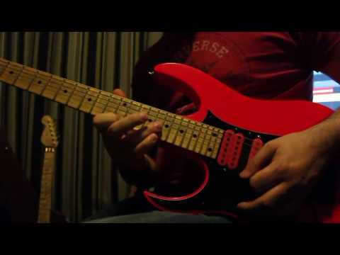 Andy James   Steve Vai Piece for Guitar Interactive cover HD, 1280x720p
