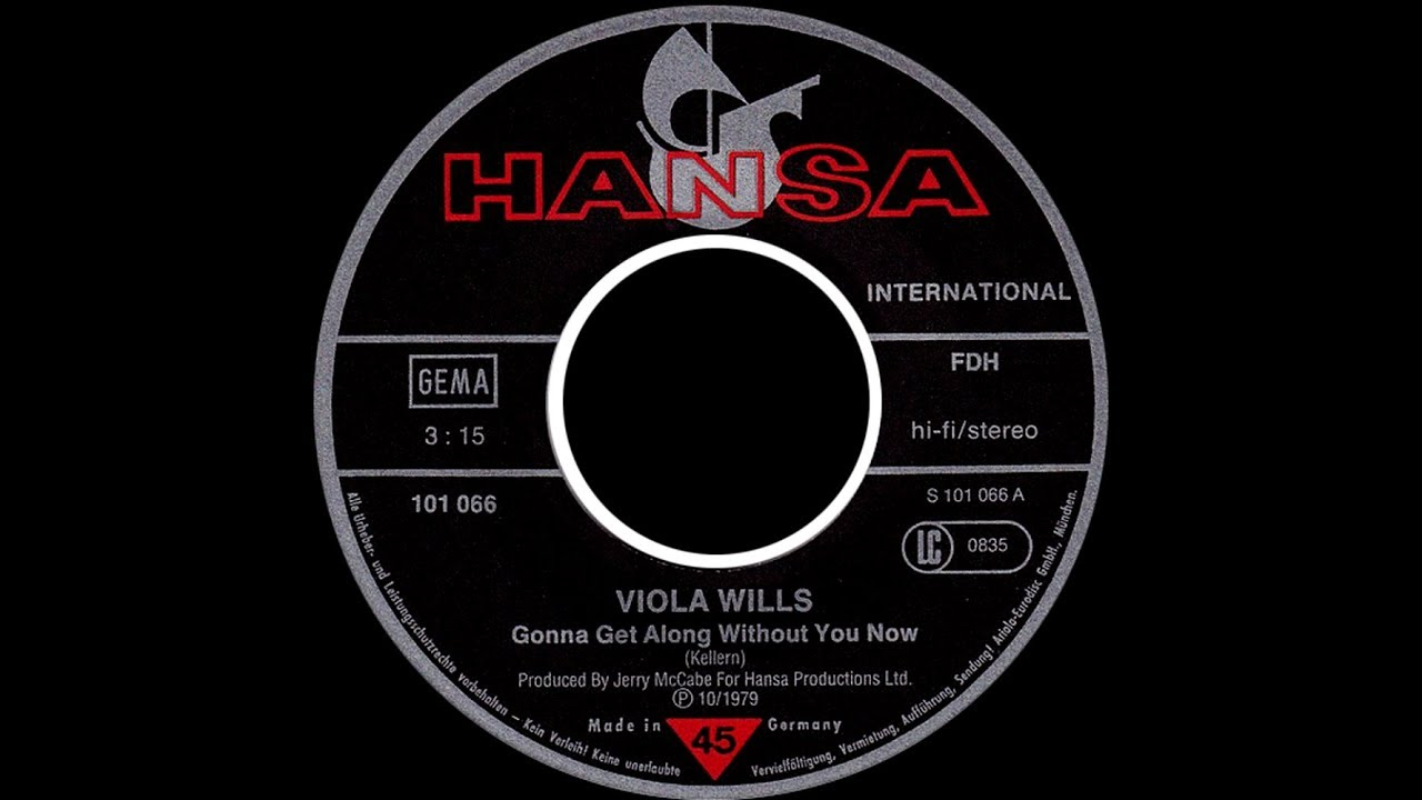 Viola Wills Gonna Get Along Without You Now 1980 Disco