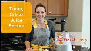 Tangy Citrus Juice Recipe