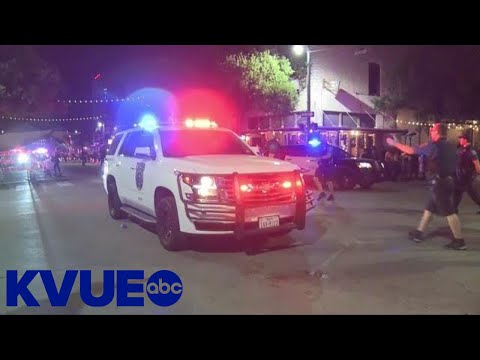 Video shows chaotic scene after mass shooting in Austin, Texas | KVUE