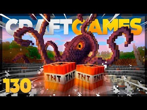 Mini Game ATAQUE AO KRAKEN!  Craft Games 130