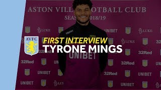 First interview: Tyrone Mings