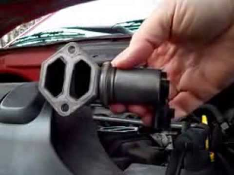 EASY! Ford Escape + others V6 Idle Air Control Valve Replace Repair (IAC)