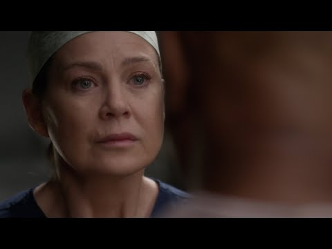 Meredith Finds Richard About To Cut Himself Open - Grey's Anatomy