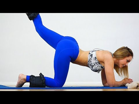 10 Min BUTT Workout for a Rounder Butt and Tone Thighs!