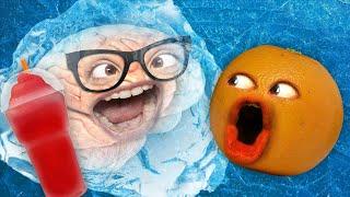 Annoying Orange - Brain Freeze Challenge #3