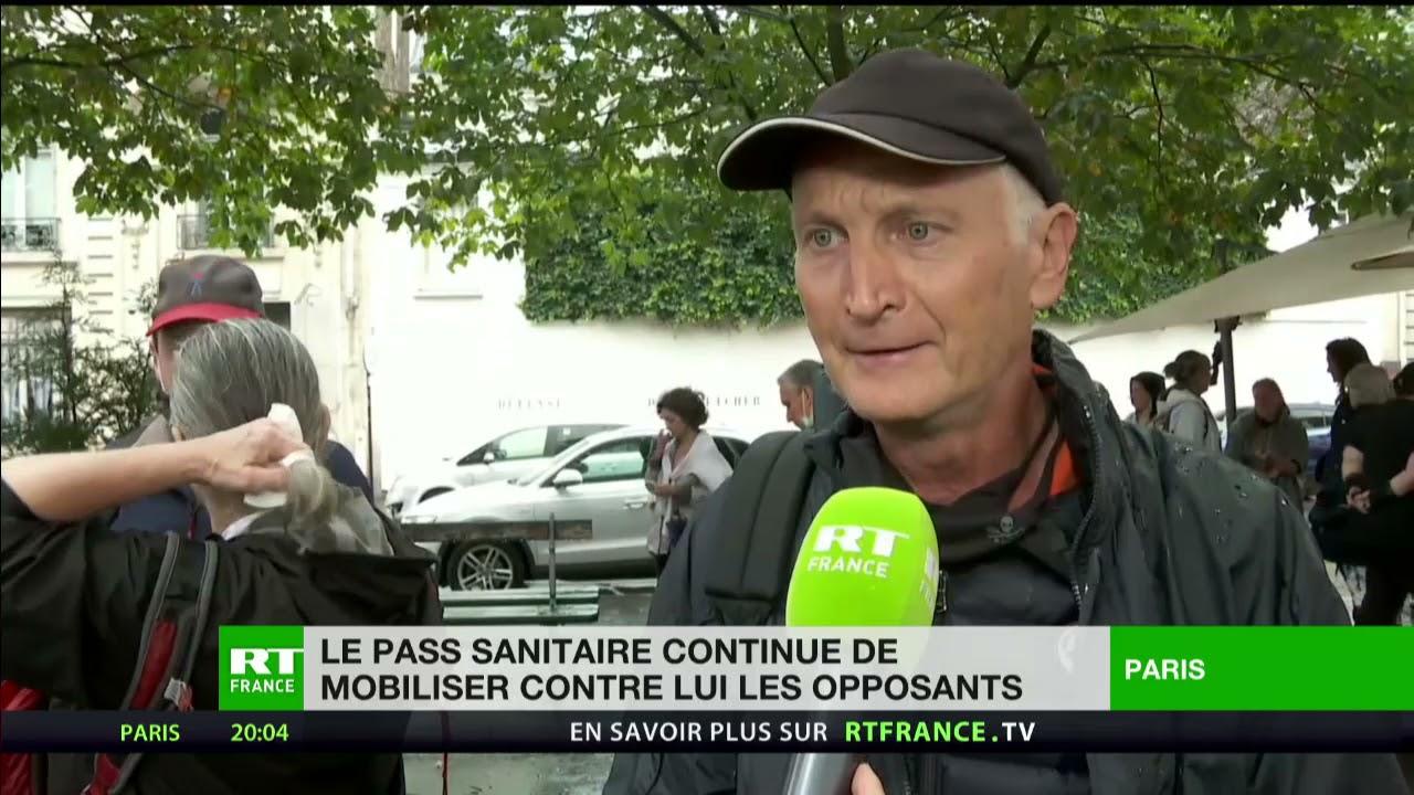 Download «On ne lâchera pas» : les manifestants de nouveau mobilisés contre le pass sanitaire