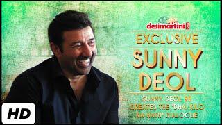 "Sunny Deol Re Creates The ""Dhai Kilo Ka Hath"" Dialogue"