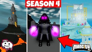 NEW VILLAIN TEAM and NEW PLACES on the MAP-Mad City 👿 SEASON 4 👿 Roblox tNo