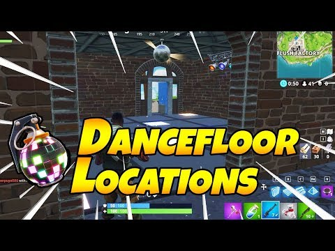 EASY! All 3 Dance Floor Locations In Fortnite - Week 8 Challenge