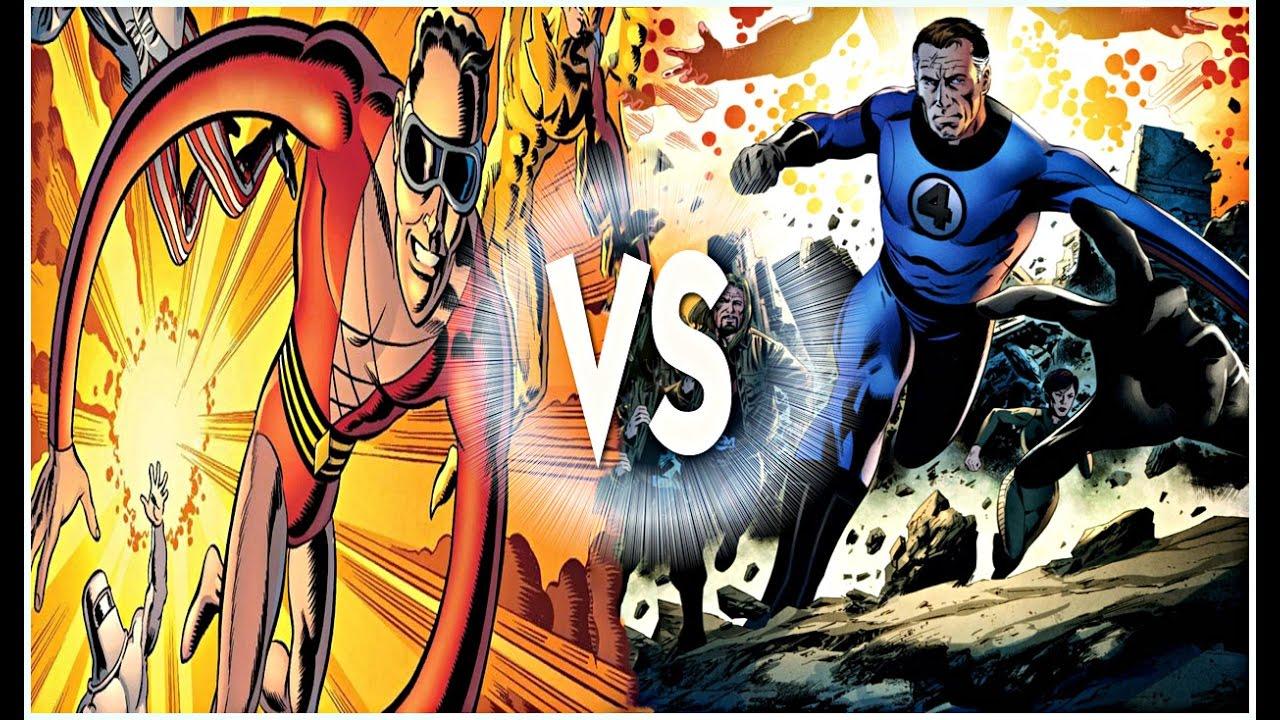 Mr Fantastic Vs Plastic Man Marvel Vs Dc Youtube