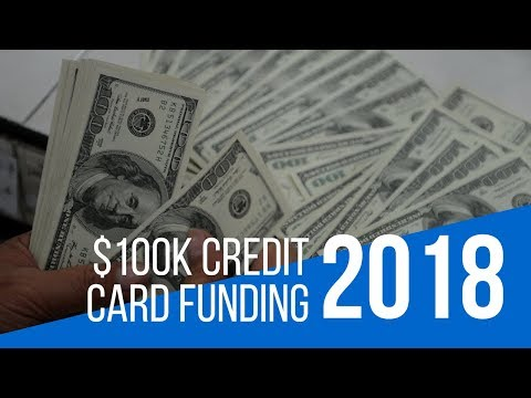 Something New In 2018 $100K Plus Credit Funding