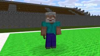 Minecraft Myltiki   Shkola monstrov  Fytbol Mainkraft Animaciya Video