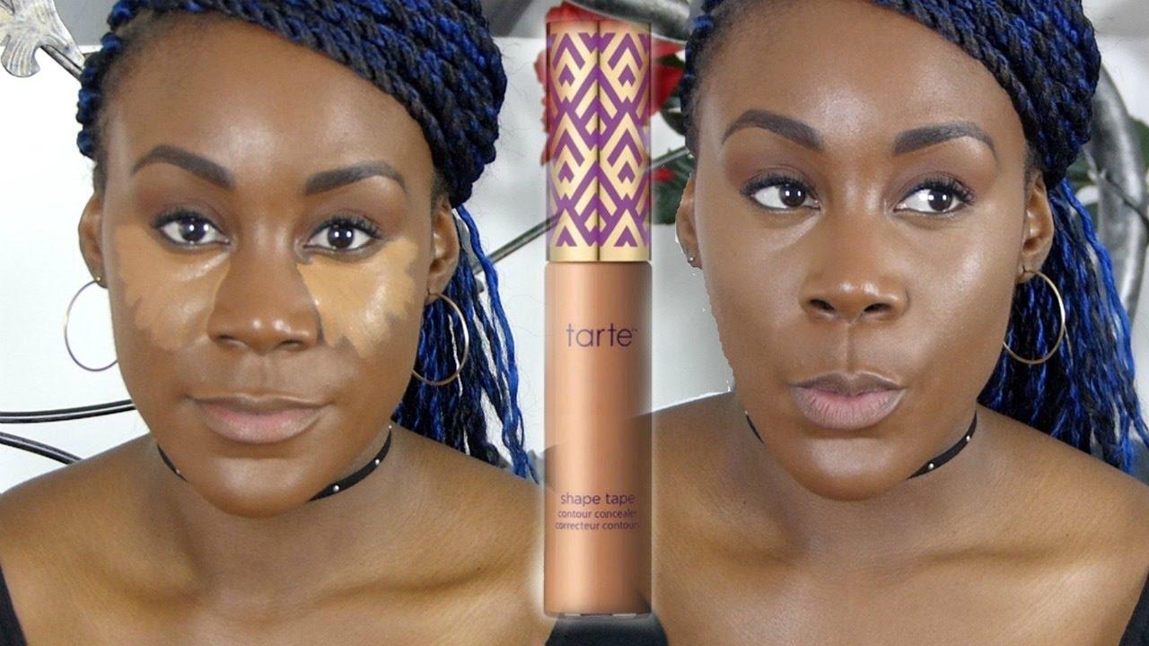 how to use concealer on dark skin