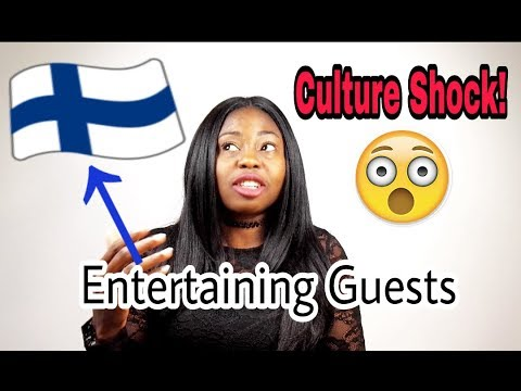 Finnish Culture Shocks: Interesting Things I Noticed; Entertaining Guests In Finland