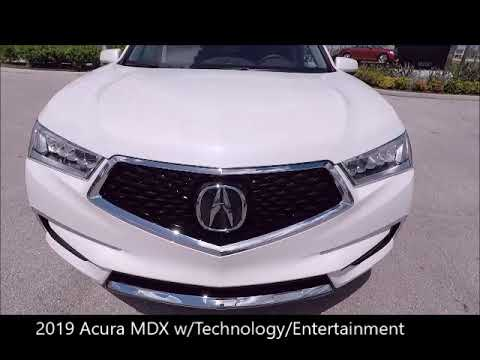 Acura Fort Myers >> New 2019 Acura Mdx W Technology Entertainment Pkg Near Fort Myers