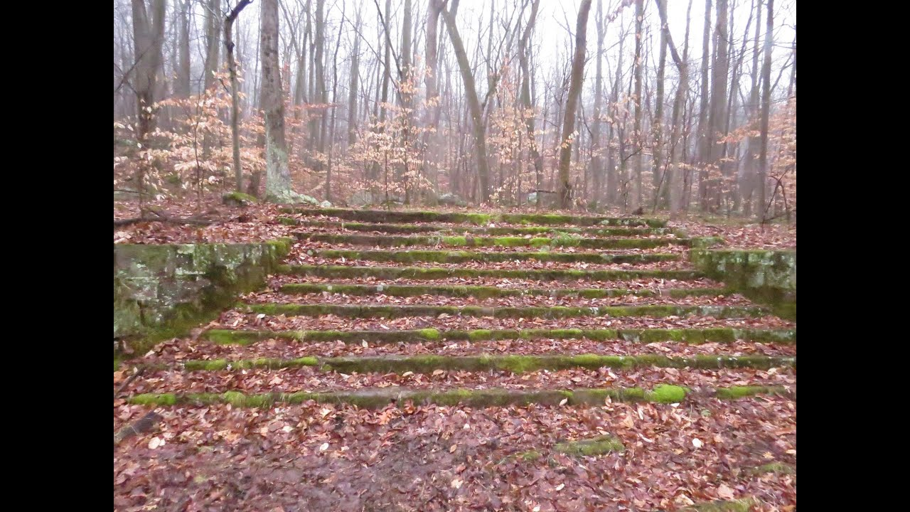 French Creek State Park A Grand Staircase In The Woods Youtube