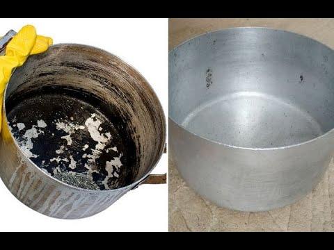 Как отмыть алюминиевую кастрюлю от нагара в домашних условиях
