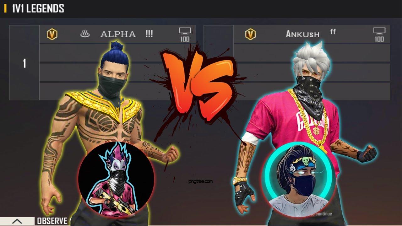 ALPHA FF VS ANKUSH FF   INDIAN LEGEND VS INDIAN KING - BEST ROOM IN INDIA SERVER